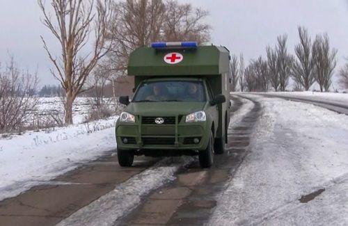 Военные медики рассказали об эксплуатации санитарных Богдан 2251