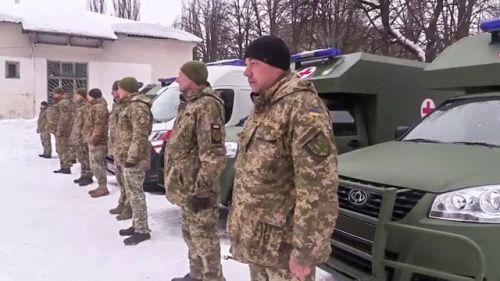 Экипажи медицинской эвакуации на Богдан 2251 обеспечены по стандартам НАТО