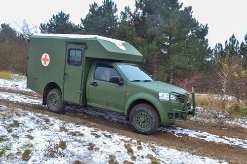 Как работают медицинские роты бригад на санитарных Богдан 2251