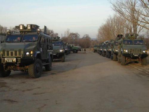 На какой технике ездит морская пехота ВМС Украины - Краз