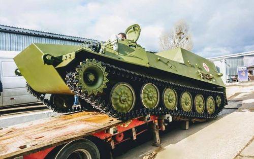 В Украине уже выпустили 45 санитарных бронемашин - МТ-ЛБ