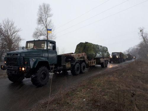 Генштаб ВСУ показал какая техника ПВО защищает небо над Киевом - КрАЗ