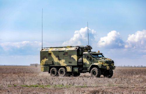 В Украине разработали новейший бронированный армейский грузовик