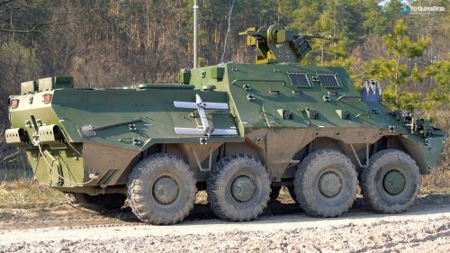 В Украине разработали собственную командно-штабную машину - БТР