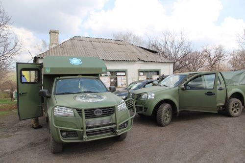 Внедорожники «Богдан» принимают активное участие в гуманитарных миссиях
