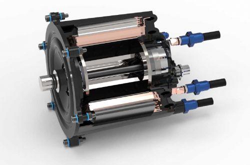 В Германии изобрели принципиально новый электродвигатель - электромоб