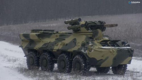 Новые БТР-3ДА приняли участие в учениях ВСУ