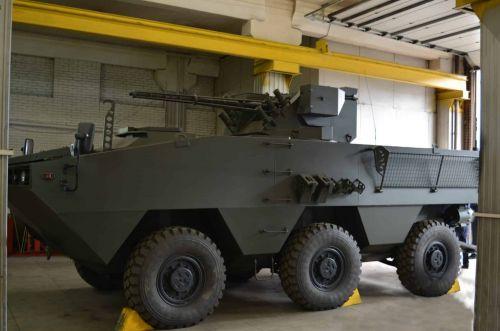 """На выставке """"Оружие и безопасность"""" дебютирует новый украинский БТР Отаман-3"""