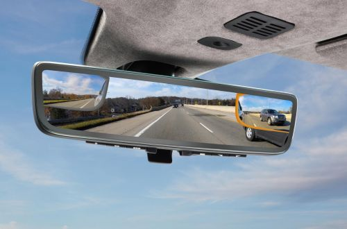 Aston Martin анонсировал необычное зеркало заднего вида