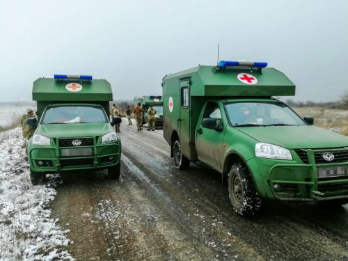 Богдан 2251 в районе проведения ООС используют и в мирных целях