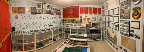 Появился музей Львовского автобусного завода