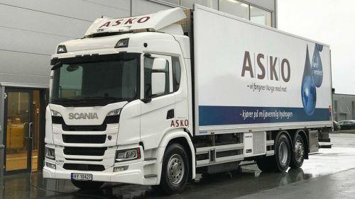Scania запускает в эксплуатацию водородные грузовики с электрической трансмиссией - Scania