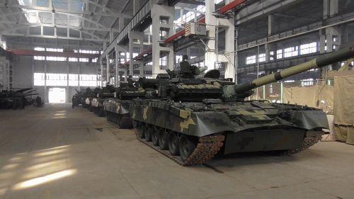 Харьковский бронетанковый завод поставил партию танков для ВСУ