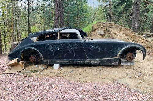 В лесу под Киевом нашли остатки Maybach - Maybach