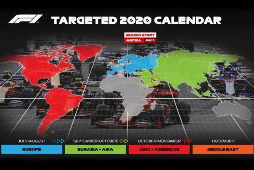 Чемпионат Formula1 все-таки пройдет в 2020 году. Уже готовится календарь гонок