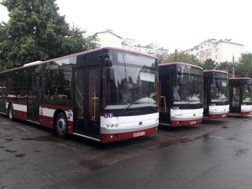 Ивано-Франковск уже получает заказанные автобусы Богдан А701
