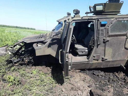 КрАЗ Спартан спас жизнь 10 бойцам на Донбассе