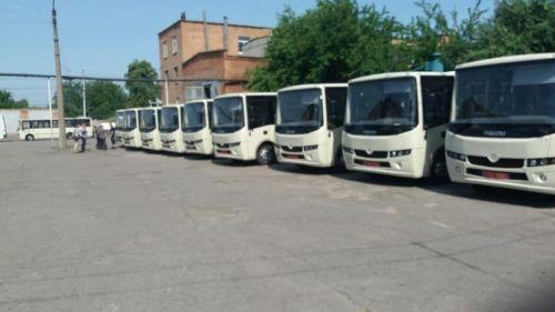 Полтава закупила еще одну партию автобусов Ataman A092H2