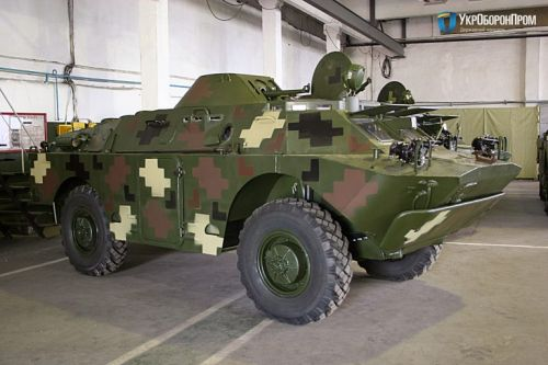 Украинские военные получили партию восстановленных дозорных машин БРДМ-2Л1