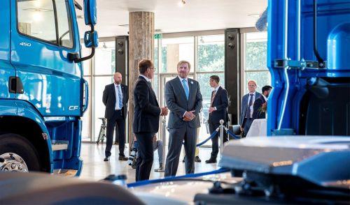 Король Нидерландов посетил DAF