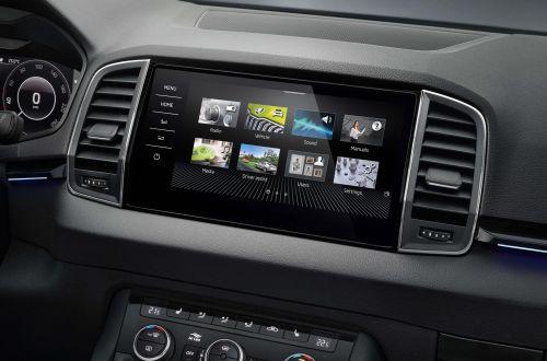 Три модели Skoda получили продвинутый мультимедийный комплекс