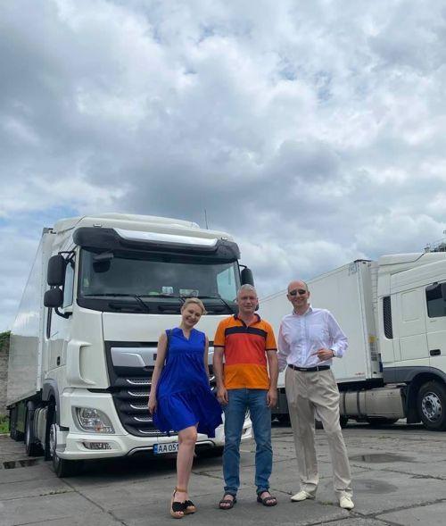 1001-м грузовиком с финансированием от OTP Leasing стал DAF