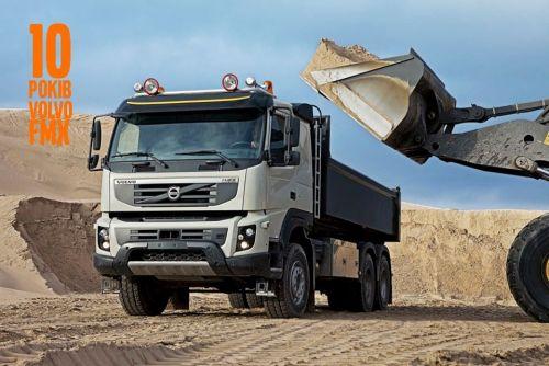 Volvo FMX отмечает 10-летие