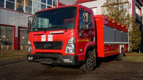 В Украине разработали пожарный автомобиль для сельских регионов - Hyundai