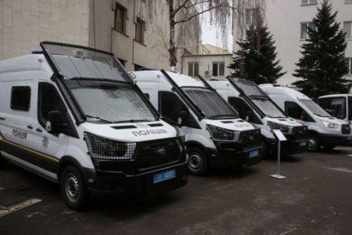 Национальная гвардия закупит 58 специализированных микроавтобусов Ford Transit