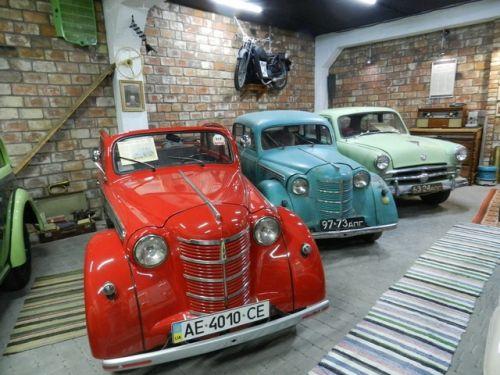 В Днепре открылся новый автомобильный музей