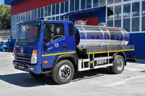В Украине выпустили доступную автоцистерну для водоканалов
