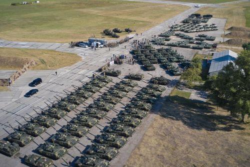 ВСУ получили 132 единицы новой техники
