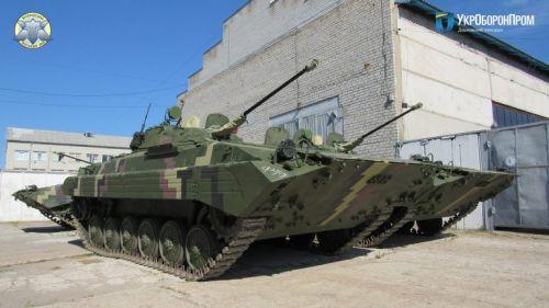 ВСУ начали получать модернизированные БМП