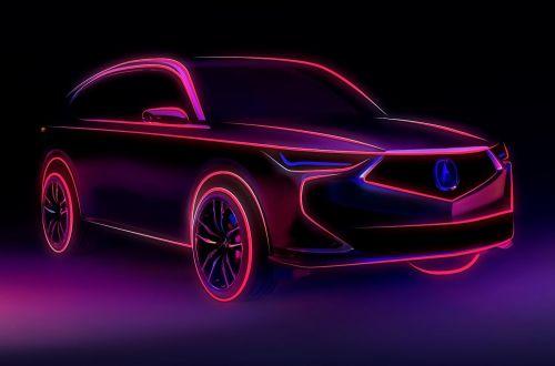 Acura показала эскиз нового поколения MDX - Acura