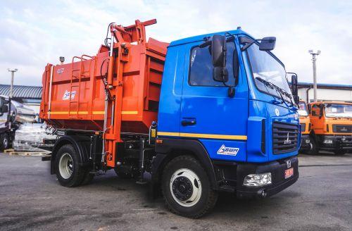 Сельрады в этом сезоне закупают компактные мусоровозы на шасси МАЗ