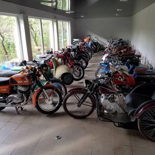 В Украине обнаружили крупнейшую коллекцию мотоциклов