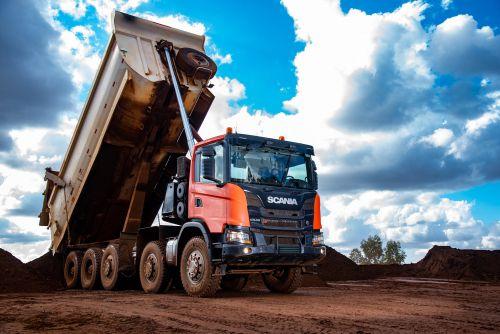 Scania представила 50-тонный самосвал для горно-добывающей отрасли - Scania