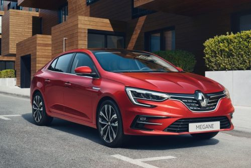 Седан Renault Megane обновился