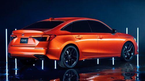 Представлено новое поколение Honda Civic - Honda