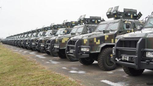 ВСУ получили партию новых бронеавтомобилей Козак-2