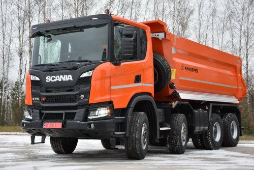 """Scania осуществила поставку карьерного самосвала по государственной программе """"Доступный кредит""""  - Scania"""