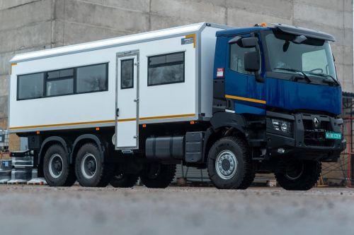Renault Trucks представила замену спецтехники на базе КрАЗ - Renault