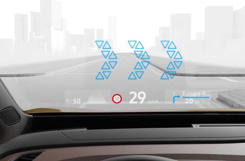 Новые модели Volkswagen получат проекционный дисплей с дополненной реальностью