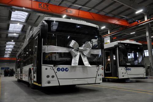 МАЗ запустил новый завод по выпуску электротранспорта - МАЗ