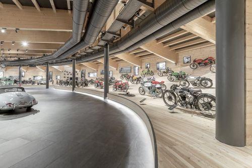 В Австрии сгорел музей мотоциклов