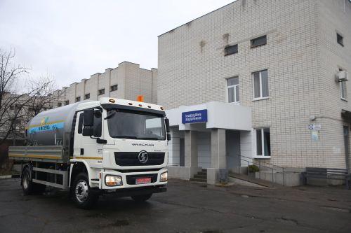 В Кременчуге выпустили автомобиль для перевозки медицинского кислорода