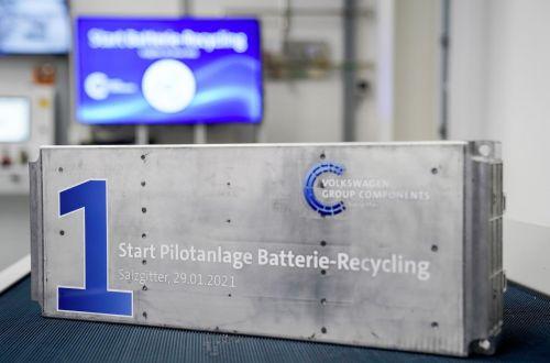 Volkswagen запустил завод по переработке аккумуляторов