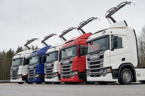 Scania поставит электрофицированные грузовики для перевозок по немецкому автобану