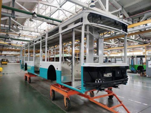 «Богдан» начал производство троллейбусов для Сум - Богдан