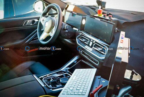 Каким будет интерьер нового поколения BMW X6 - BMW
